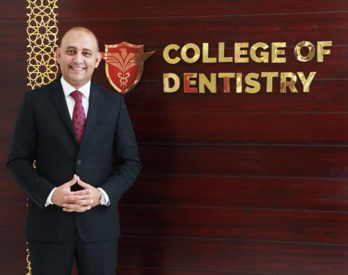 Dr. Hesham Marei Appointed New Dean of Gulf Medical University's College of Dentistry