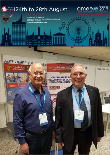 Gulf Medical University Chancellor Prof. Hossam Hamdy Speaks on 'Value-Based Innovation and Medical Colleges of the Future' at the AMEE Annual Conference in Vienna