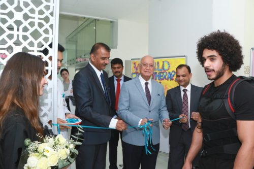 Gulf Medical University's College of Health Sciences Celebrates World Physiotherapy Day 2019