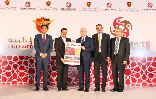 Gulf Medical University 'Global Alumni Summit 2020' Recognizes Global Achievers