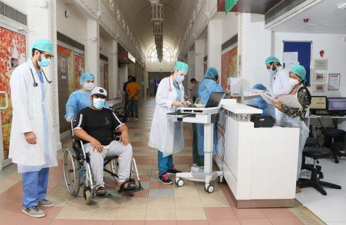 Gulf Medical University Student VolunteersJoinFight against COVID-19