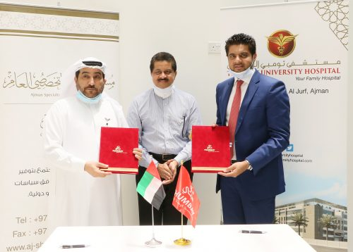 Ajman Specialty Hospital Enters into Collaborative Partnership with Thumbay University Hospital and Thumbay Labs to Deliver Advanced Healthcare Services