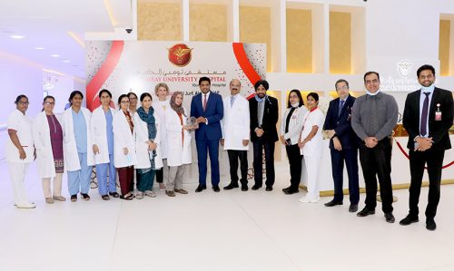 Thumbay University Hospital's Center for Obstetrics and Gynaecology Celebrates 1000 Births within a Year of Opening