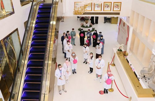 Thumbay University Hospital Conducts Breast Cancer Awareness Program Supported by Ajman Police