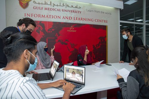 Gulf Medical University's Virtual Patient, secures Gold at QS MAPLE 2021 Education Awards