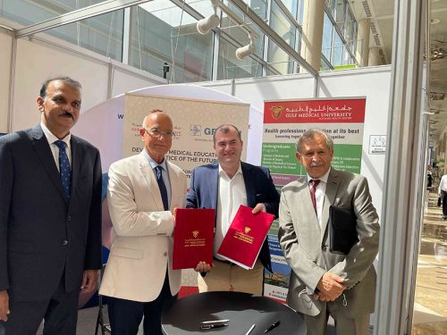 Gulf Medical University Joins hand with GEOTAR-Med LLC, Moscow Russia to develop Innovative technologies in Medical Education