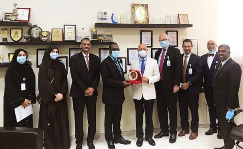 Gulf Medical University tie up with Sheikh Shakhbout Medical City, Mayo clinic, Abu Dhabi in Clinical Training and Cancer Research